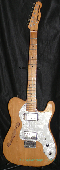 ~HOLD~Greco Japan `78 Spacey Sounds Thinline TL type TE500